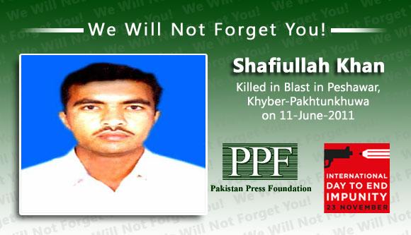 Injured journalist dies of blast wounds