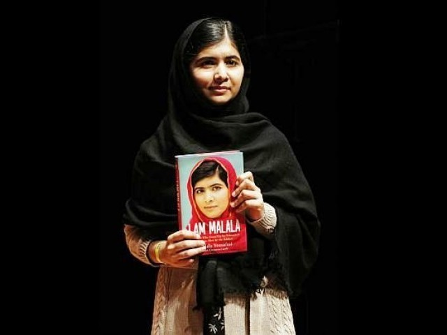 Politicking over pages of child activist's memoir