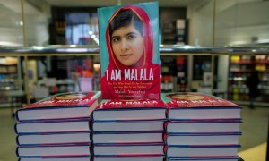 Malala interrupted and the Khan surprised