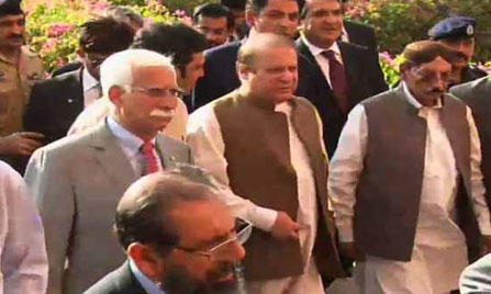 Attackers of Hamid Mir will be brought to book, says Nawaz