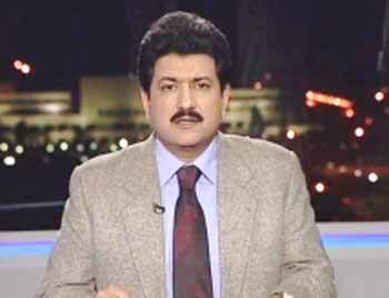 Imran, senior journalists visit Hamid Mir