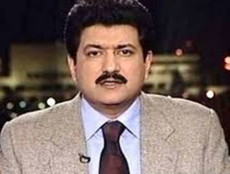 Popular television anchor Hamid Mir shot, injured in Karachi