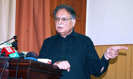Freedom of expression shouldn't be banned: Pervaiz