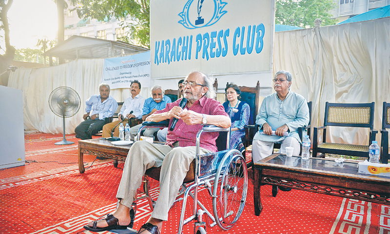 Media persons facing multitude of threats, moot told