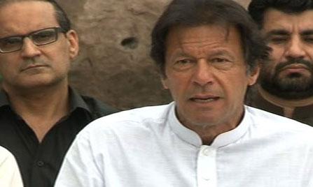 Imran hurls baseless allegations against Geo TV again