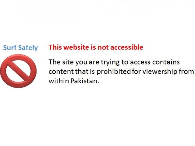 Blocking the internet