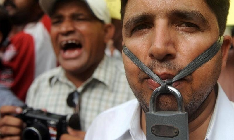 Pakistan is ranked 159 on list of 180 countries on media freedom: RWB report