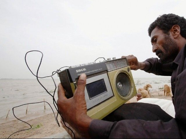 Tribespeople reliant on militant or foreign radio for news